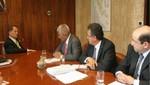Ministro Merino se reunió con directiva de Doe Run Perú