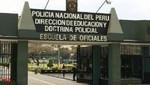 Dirincri investiga muerte de cadete PNP en Escuela de Oficiales