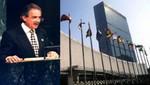 Perú asume presidencia de la Comisión de Desarme de las Naciones Unidas