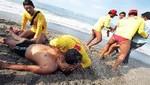 Lima: Casi 1300 bañistas fueron atendidos por salvavidas en verano