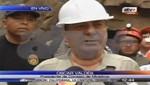 Óscar Valdés sobre mineros en Ica: 'Dentro de dos días los rescataríamos'