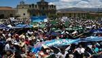 Asamblea acuerda en Cajamarca: Conga no va