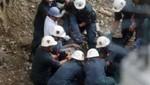 Ica: Mineros atrapados en socavón fueron rescatados