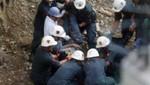 Mineros rescatados en Ica son atendidos en hospital de ESSALUD
