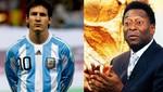 Pelé afirma que Neymar está por encima de Lionel Messi
