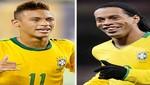 Neymar y Ronaldinho fueron convocados en Brasil para amistoso con Bosnia