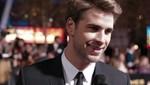 Liam Hemsworth dice que Miley Cyrus podría derrotarlo en los 'Juegos del hambre'