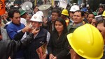 Mineros informales bloquean carretera que une Juliaca con Puno