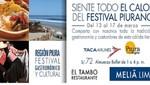Hotel Melia Lima ofrece Festival Gastronómico Cultural de Piura