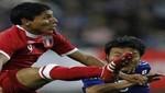 Raul Ruidíaz admitió que no dio su mejor juego ante Chile