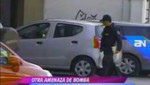 Otra nueva falsa alerta de bomba se reportó en San Borja