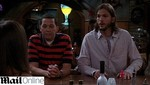 'Two and a Half Men' baja en ráting por Ashton Kutcher