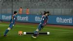 Lionel Messi celebra sus goles en PES 2012 con el 'Moonwalk' de Michael Jackson