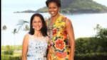 Nadine Heredia asiste a reunión ofrecida por esposa de presidente Barack Obama