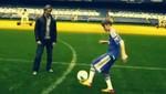 Justin Bieber comparte un día con Frank Lampard y Fernando Torres (video)