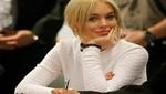 Lindsay Lohan cumple su condena de forma favorable