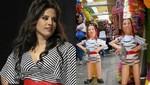 Muñecos de Rosario Ponce la rompen en mercados del Centro de Lima