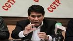 CGTP: gestión de Ollanta Humala no cumple sus promesas