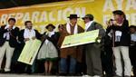 Gobierno reconoce a víctimas de violencia en Lucanamarca entregando reparaciones por S/. 500 mil