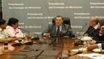 Presidente del Consejo de Ministros reitera voluntad de diálogo para resolver problemas