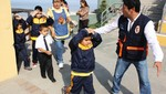 Niños de inicial aprenden cómo actuar en casos de sismos en San Miguel