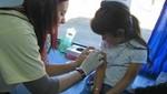 Niños de Piura se benefician con campaña 'Vacunación de las Américas'