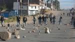 Bloquean carretera que une al Perú con Bolivia en Puno