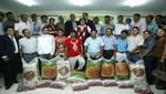 Ministra de la Mujer promueve campaña a favor de familiares de mineros rescatados en Ica