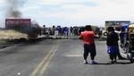 Piura: Carretera de Paita continúa bloqueada