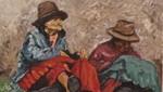 El Olivar presenta la exposición artística: 'Sierra, campesinos y trabajo'