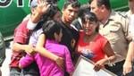PNP Luis Astuquillca se reunió con su familia