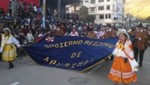 Gobierno Regional encabezó tradicional pasacalles en víspera del 139º aniversario de Apurímac