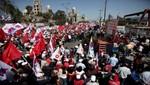 Las protestas marcan el Día del Trabajo en Europa