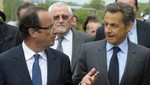 Los rivales presidenciales de Francia intercambiaron insultos en el debate
