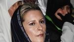 Aisha Gadafi pide juicio contra asesinos de su padre