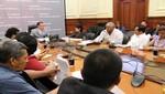 Jefe del Gabinete Presidencial garantizó mayor esfuerzo del gobierno para superar situación de emergencia en Loreto