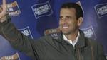 Capriles se compromete a crear más de 3 millones de puestos de trabajo