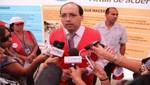 MED entrega ayuda a instituciones educativas afectadas por huaycos
