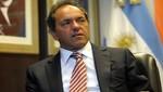 Daniel Scioli: 'Reformar la Constitución no está en la agenda'