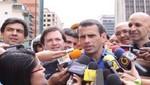 Capriles felicita a Hollande por victoria de comicios en Francia