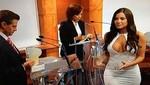 México: Conejita de Playboy Julia Orayen fue la 'atracción' del debate presidencial