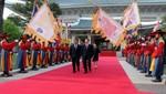 Presidente Ollanta Humala arribó a Corea en Visita de Estado