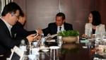Presidente Ollanta Humala sostuvo encuentro con periodistas coreanos