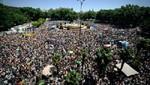 España: Miles de personas expresaron su apoyo al 15-M