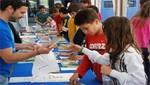 Plaza de Armas de Ferreñafe se convirtió en 'Feria Literaria' gracias a escolares