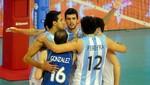 Argentina logra pasaje a los Juegos de Londres-2012 en vóley masculino