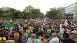 15-M: Manifestantes se trasladan ahora a Bankia