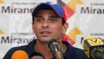 Henrique Capriles a Álvaro Uribe: 'No se meta en elecciones venezolanas'