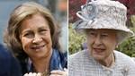 La reina de España desaíra a la reina Isabel II