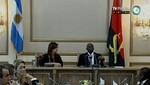 Argentina y Angola analizan cooperación bilateral